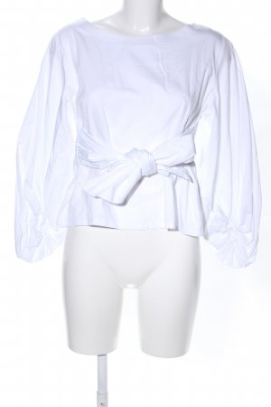 Schlupf-Bluse weiß Casual-Look