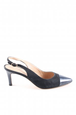 Ellemme Slingback-Pumps schwarz Casual-Look