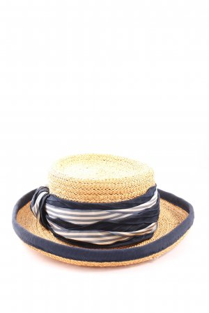 ellen paulssen Straw Hat striped pattern casual look