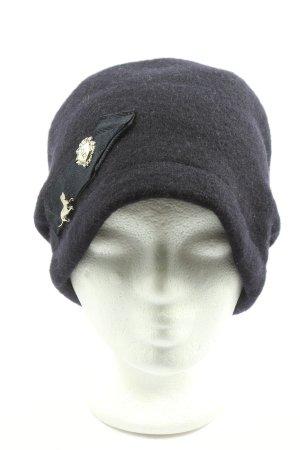 ellen paulssen Chapeau en laine noir style décontracté