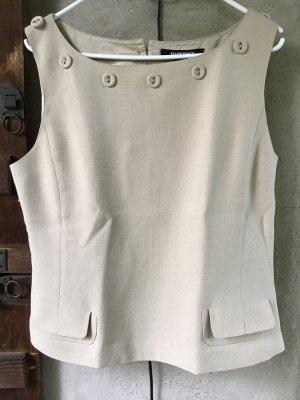 Ellen Tracy Top Shirt Größe M (US 8) beige