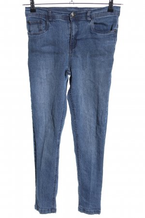 ElleNor 3/4 Jeans blau Jeans-Optik