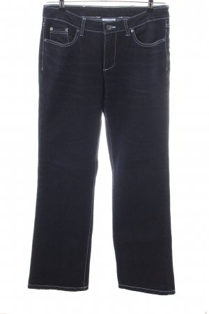 ElleNor Boot Cut Jeans blau Casual-Look