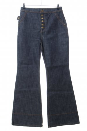 Ellery Boot Cut Jeans blau meliert Casual-Look