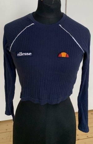 Ellesse Cropped Shirt dark blue