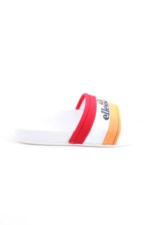 Ellesse Comfort Sandals printed lettering casual look
