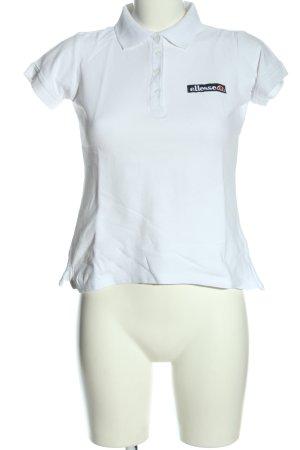 Ellesse Polo bianco stile casual
