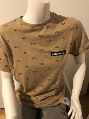 Ellesse T-shirt color cammello