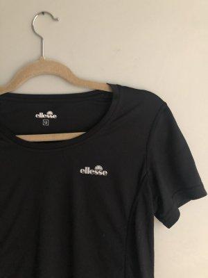 Ellesse Maglietta sport nero-bianco