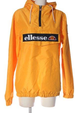 Ellesse Sportjack licht Oranje-zwart casual uitstraling
