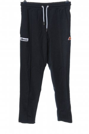 Ellesse Stoffhose schwarz sportlicher Stil
