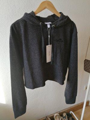 Ellesse Sweater Pullover Hoodie Pulli grau