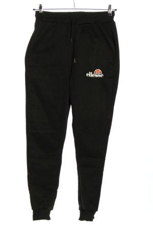 Ellesse Spodnie dresowe czarny W stylu casual