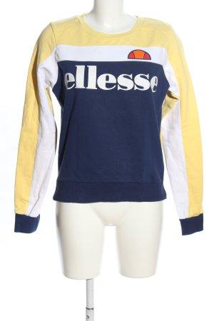 Ellesse Sweatshirt Schriftzug gedruckt Casual-Look