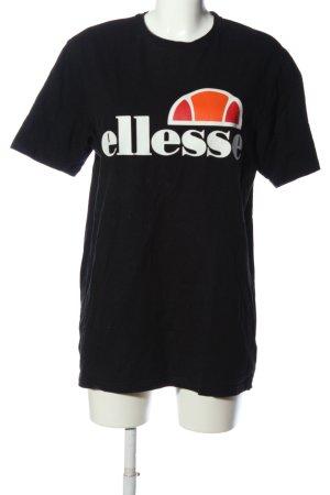 Ellesse T-Shirt Motivdruck Casual-Look