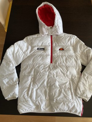 Ellesse Hoody white-red