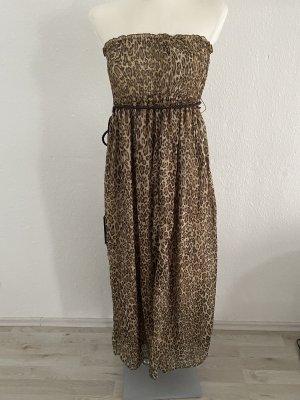 Ellison USA Leopard Kleid Leo Kim Kardashian 36 Maxikleid