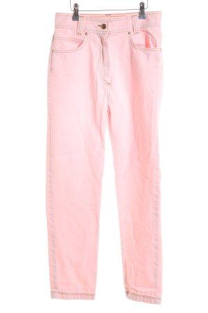 Elsa Bik Bok Baggy jeans lichtroze casual uitstraling