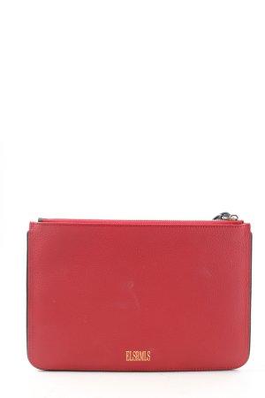 ELSRMLS Pochette red casual look