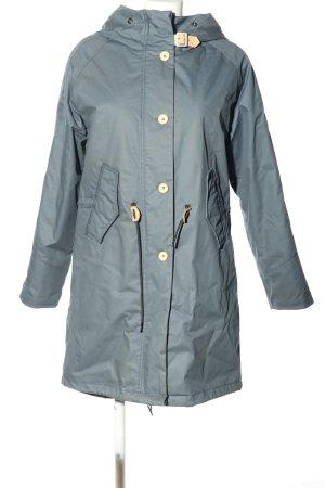 Elvine Hooded Coat light grey casual look