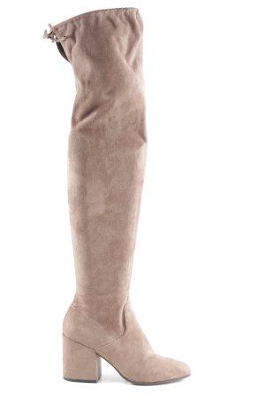 Elvio Zanon Absatz Stiefel graubraun Casual-Look