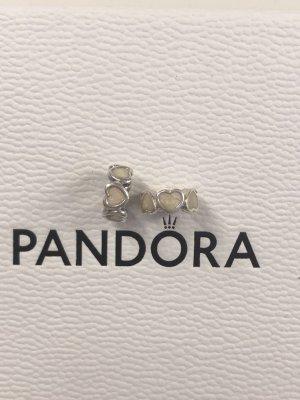 Emaillierte Herzen Pandora Zwischenelemente