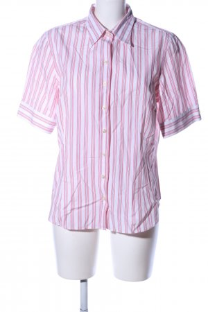 Emanuel Berg Short Sleeve Shirt pink-white allover print casual look