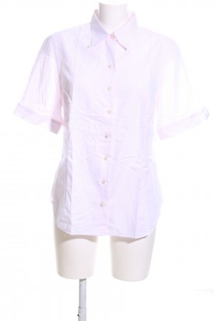 Emanuel Berg Short Sleeve Shirt pink striped pattern business style