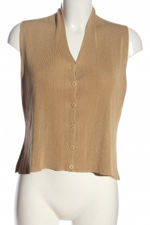 Emanuel Ungaro Knitted Top nude casual look