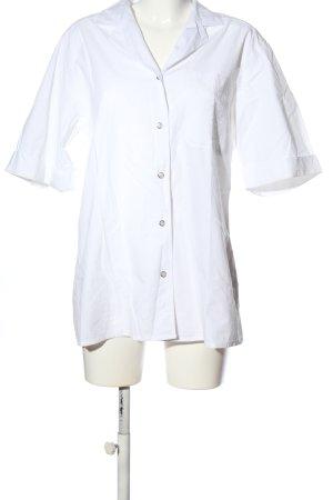 emdee Shirt met korte mouwen wit zakelijke stijl