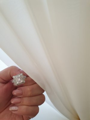 Emerald Cut Vintage Ring