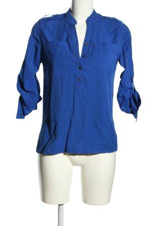 emet Hemd-Bluse blau Business-Look