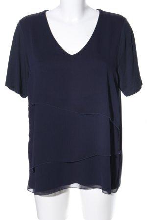 Emilia Lay Kurzarm-Bluse blau Casual-Look