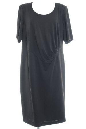 Emilia Lay Kurzarmkleid schwarz Elegant
