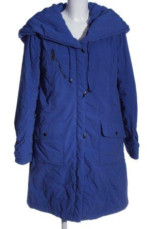 Emilia Lay Lange Jacke blau Casual-Look
