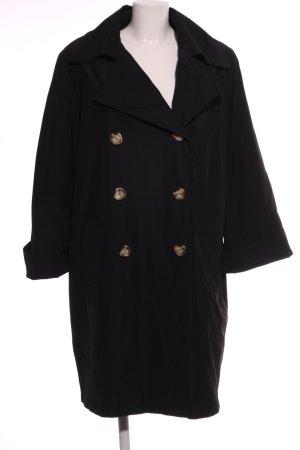 Emilia Lay Trenchcoat zwart casual uitstraling