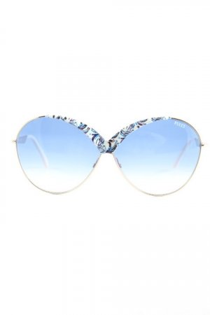 Emilio Pucci Gafas mariposa multicolor Logotipo en relieve