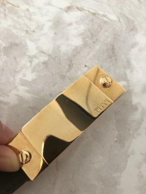 Emilio Pucci Gürtel Khaki Gold