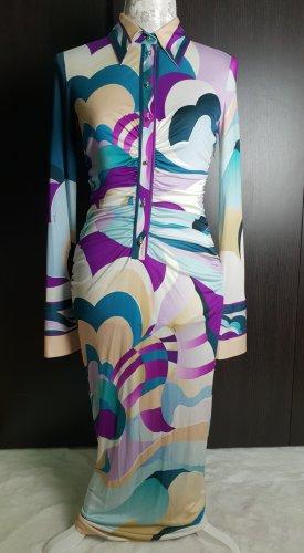 Emilio Pucci Langarm Kleid aus Seide