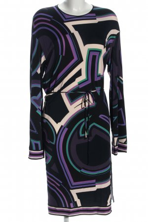 Emilio Pucci Langarmkleid abstraktes Muster Casual-Look