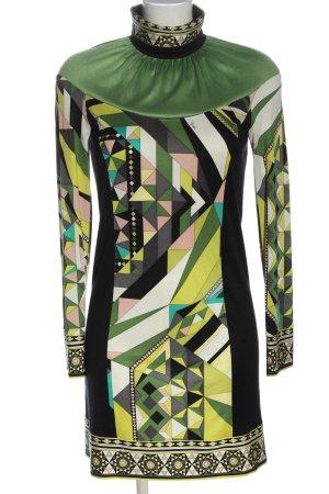 Emilio Pucci Longsleeve Dress abstract pattern elegant