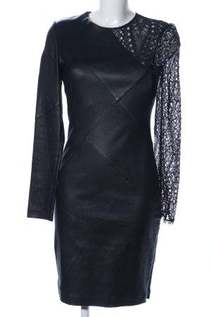 Emilio Pucci Langarmkleid schwarz Elegant