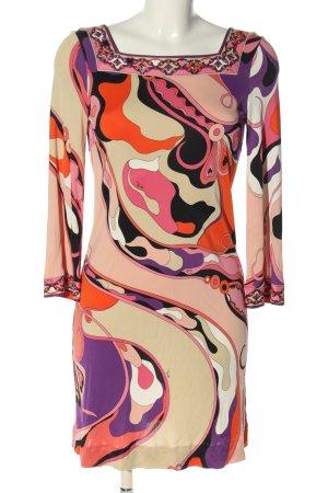 Emilio Pucci Robe stretch motif abstrait style décontracté