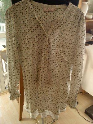 Emily van der Bergh Lange blouse veelkleurig Viscose