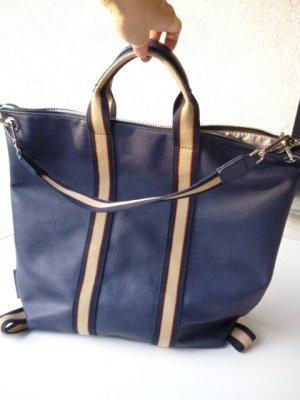 Emily&Noah Rucksack/Handtasche 3 in 1 in wunderschönem Blau, praktisch und stylisch