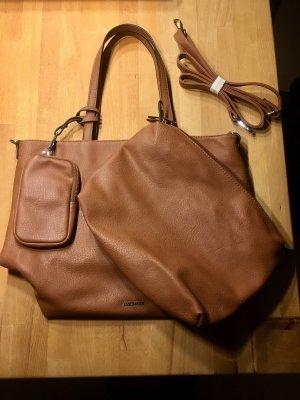 Emily&Noah Shopper Bag in Bag Cognac