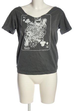 Emily the Strange Print-Shirt