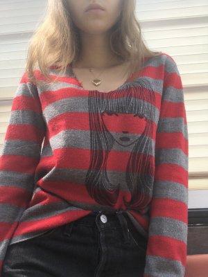 Emily The Strange V-Neck Pulli