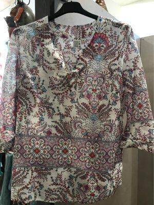 Emily van den Bergh Long Sleeve Blouse multicolored