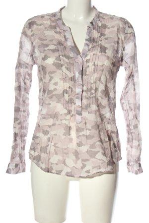 Emily van den Bergh Hemd-Bluse Camouflagemuster Casual-Look